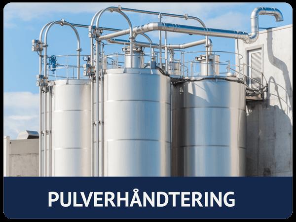 Pulverhåndtering tanker for industri