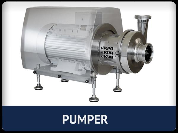 Pumper for industri